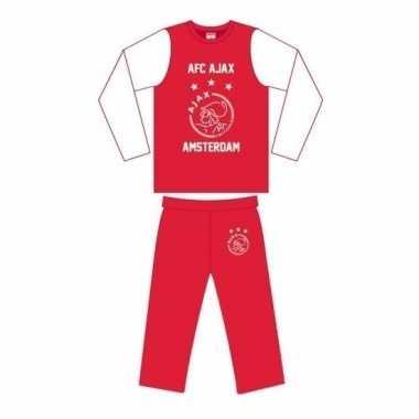 Goedkope ajax pyjama broek en shirt voor jongens