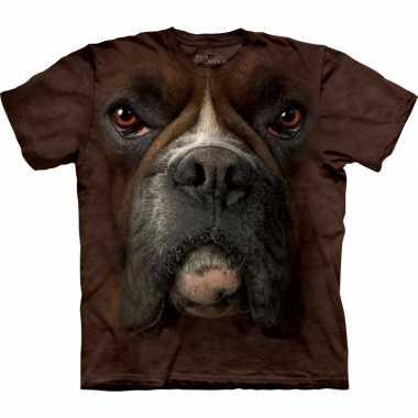 Goedkope all over print t shirt met boxer