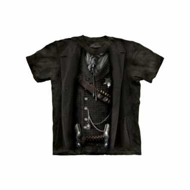 Goedkope all over print t shirt sheriff