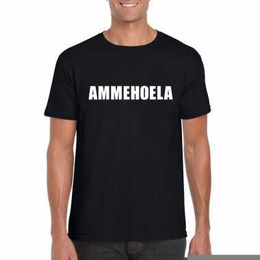 Goedkope ammehoela fun t shirt zwart voor heren