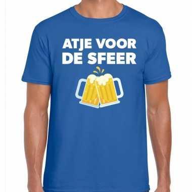 Goedkope atje voor de sfeer fun t shirt blauw voor heren