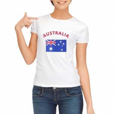 Goedkope australische vlag t-shirt voor dames