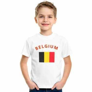 Goedkope belgische vlag t-shirts voor kinderen