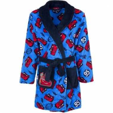 Goedkope blauwe cars badjas voor jongens