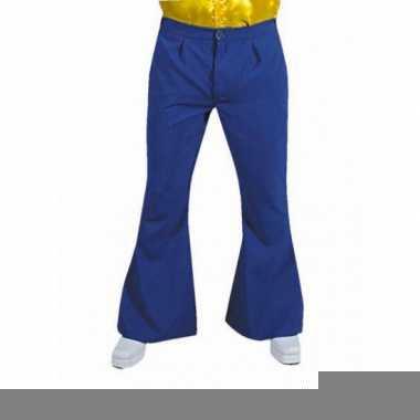 Goedkope blauwe hippie heren broeken