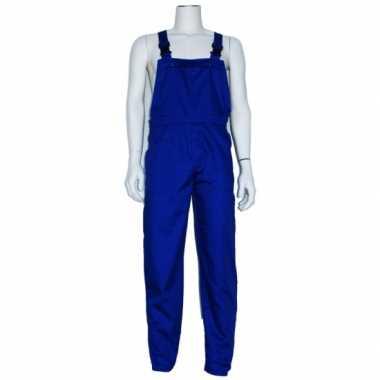 Goedkope blauwe tuinbroek voor dames en heren