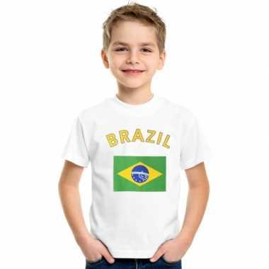 Goedkope brazilie vlag t-shirts voor kinderen