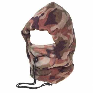 Goedkope camouflage bivak muts