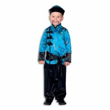 Goedkope  Chinees kinder kostuum blauw