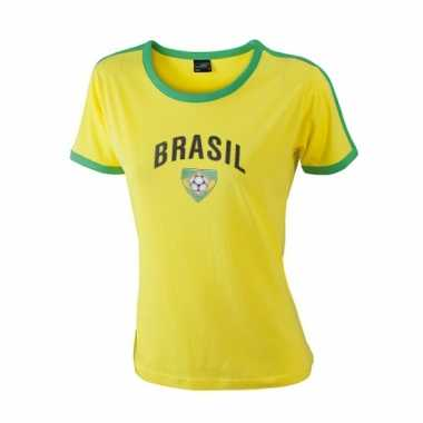 Goedkope dames t-shirt met de brasil print