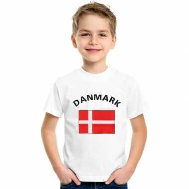 Goedkope deense vlag t-shirts voor kinderen