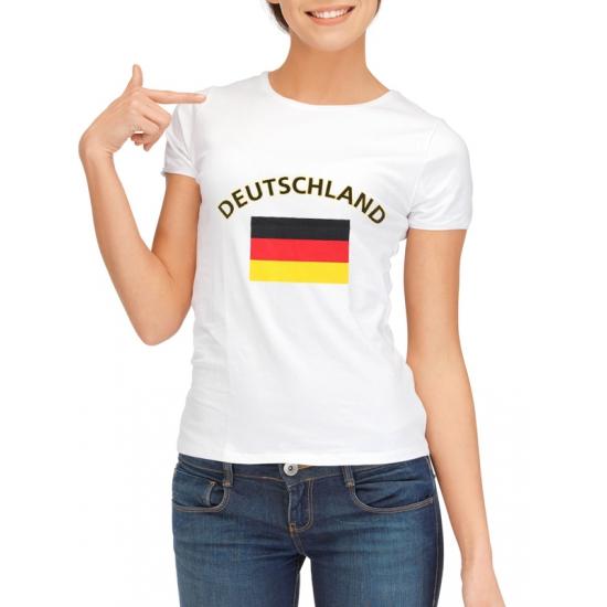 Goedkope duitse vlag t-shirt voor dames