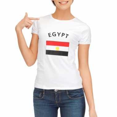 Goedkope egyptische vlag t-shirt voor dames