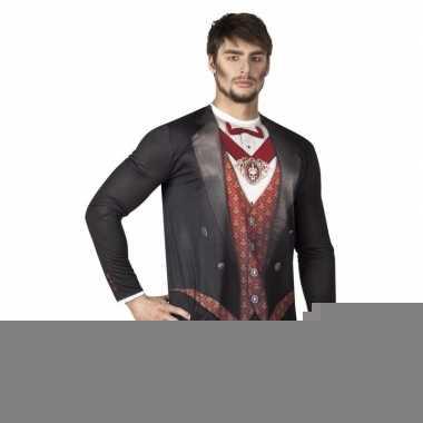 Goedkope fotorealistische vampier shirt