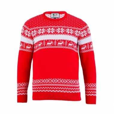 Foute Kersttrui Dames Goedkoop.Goedkope Foute Kersttrui The Red Nordic Voor Dames Goedkope Kleren Nl