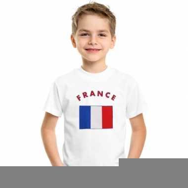 Goedkope frankrijk vlag t-shirts voor kinderen