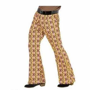 Goedkope gekleurde hippie heren broek xxl