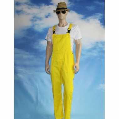 Goedkope gele tuinbroek voor dames en heren