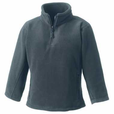 Goedkope grijze polyester fleece trui voor jongens