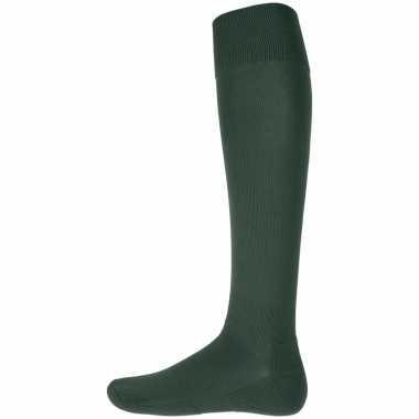Goedkope groene hoge sokken 1 paar