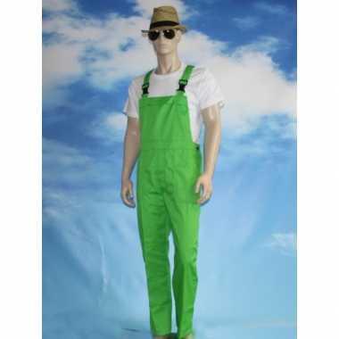 Goedkope groene tuinbroek voor dames en heren