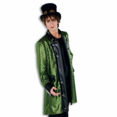 Goedkope groene verkleedjas voor heren
