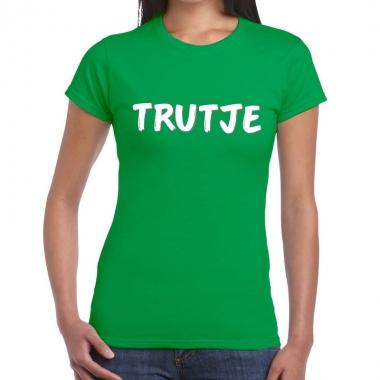 Goedkope groentrutje shirt voor dames