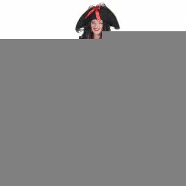 Goedkope grote maat dames piraten verkleed jurkje en jas