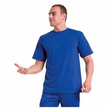 Goedkope grote maat heren t shirts maat 4xl blauw