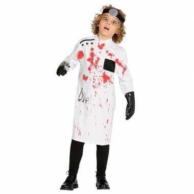 Goedkope halloween kinderkleren bloederige dokterjas