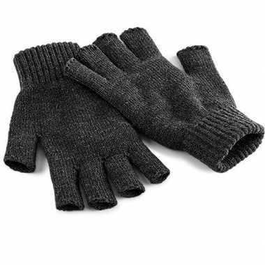 Goedkope handschoenen zonder vingers zwart