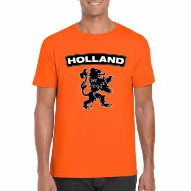 Goedkope holland shirt leeuw oranje heren