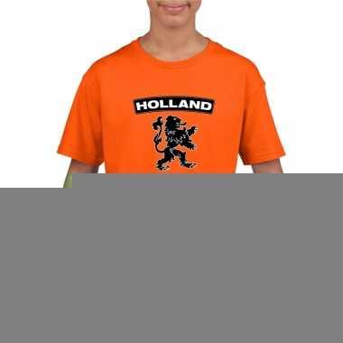 Goedkope holland shirt leeuw oranje kinderen