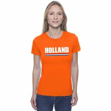 Goedkope holland supporter shirt oranje dames