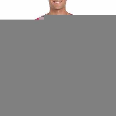 Goedkope i think he is gay shirt roze voor heren