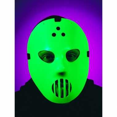 Goedkope jason hockey masker glow in the dark