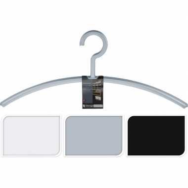 Goedkope jassenhangers voor in de hal/garderobe per 2 stuks grijs