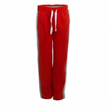 Goedkope joggingbroeken rood bootcamp lemon & soda