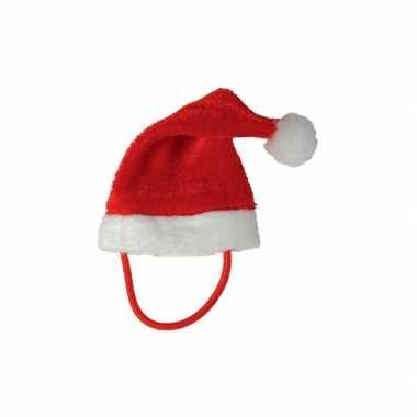 Goedkope kerstmuts voor een knuffelbeer