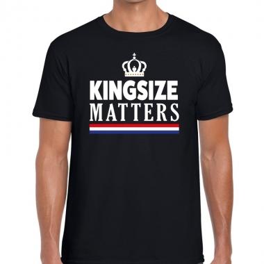 Goedkope kingsize matters t shirt zwart voor heren