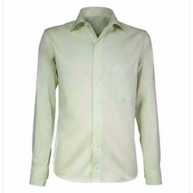 Goedkope kleren heren overhemd extra lange mouw