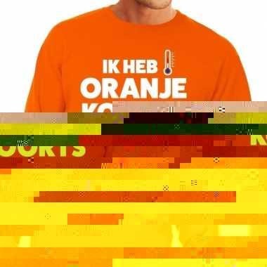 Goedkope koningsdag fun trui ik heb oranjekoorts voor heren