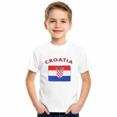 Goedkope kroatische vlag t-shirts voor kinderen
