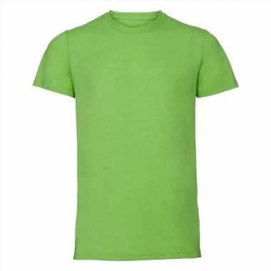 Goedkope lime heren t shirts met ronde hals