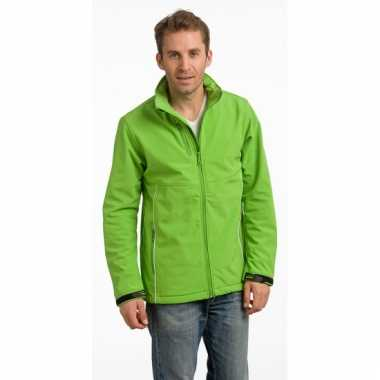 Goedkope lime polyester herenjas