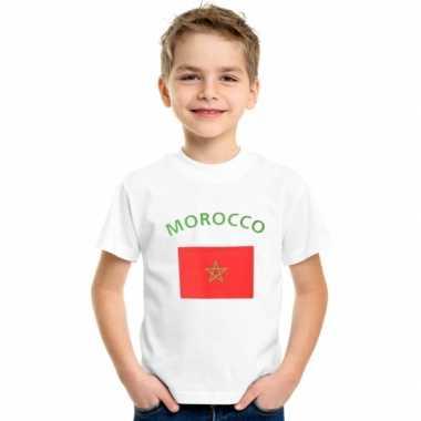 Goedkope marokkaanse vlag t-shirts voor kinderen