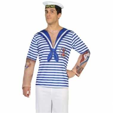 Goedkope matroos shirt verkleedoutfit