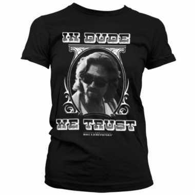 Goedkope merchandise big lebowski shirt dames zwart