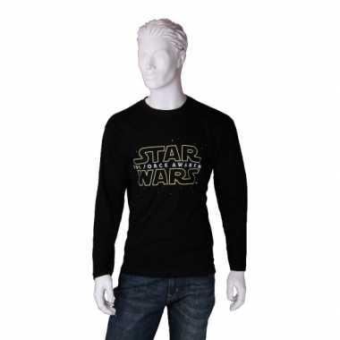 Goedkope merchandise star wars ls shirt heren