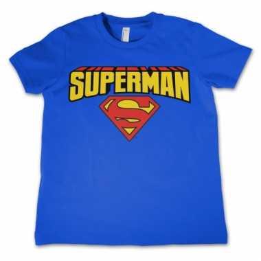 Goedkope merchandise superman shirt kinderen